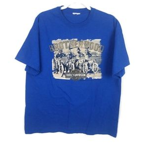 Harley Davidson | Looney Toons Blue Graphic Tee